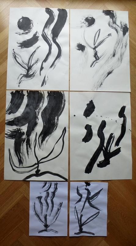 Kalligraphie 2014 Zeitlos